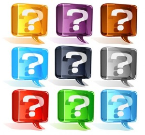 colorful question mark vector set 53 7408